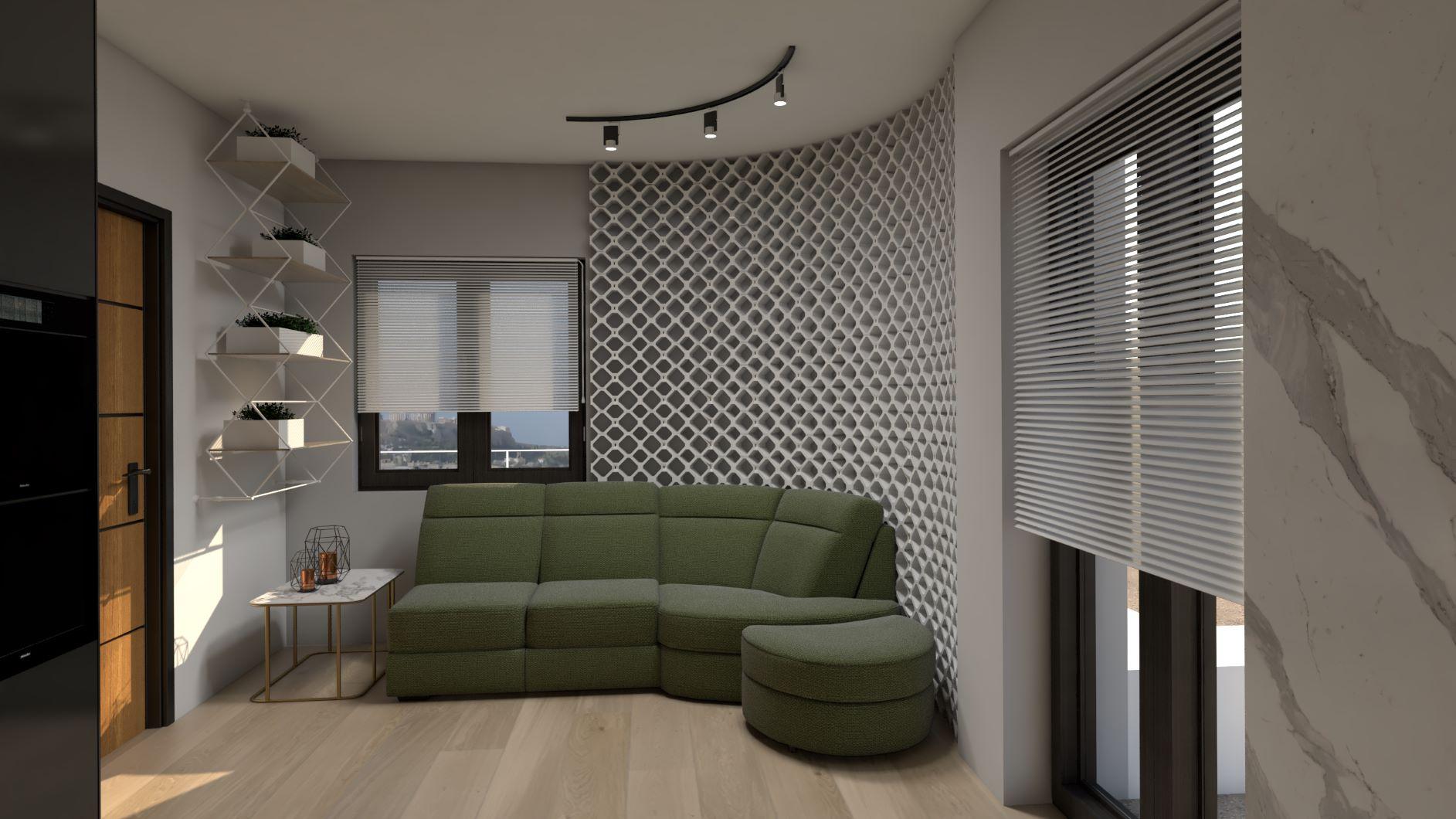 Designer's Suite with Lykavitos view