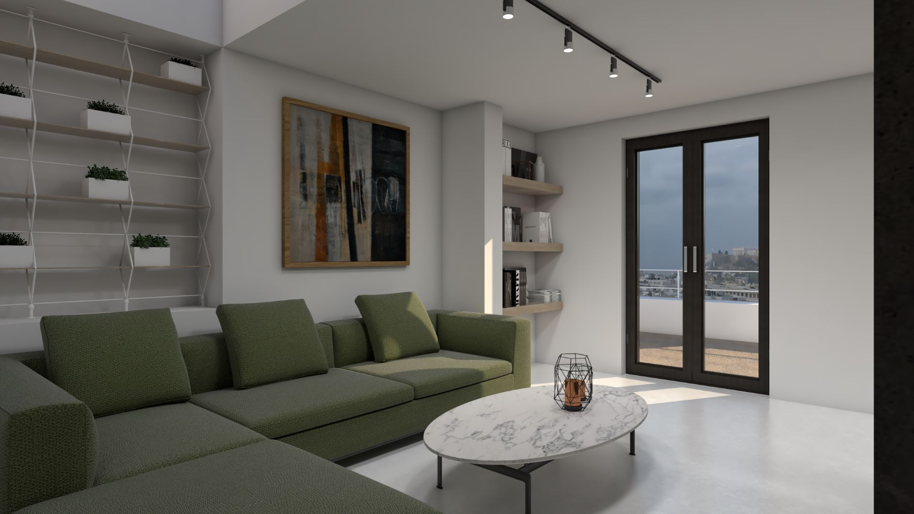 Designer's Superior Suite w Filopappou view